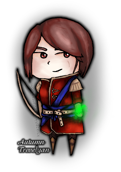 Autumn Trevelyan by ksiazeAikka