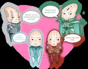 Chibi Horatio Romances