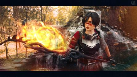 Dragon Age Marian Hawke cosplay [13/20]