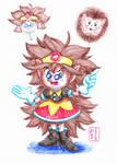 Spiky Egg-girl