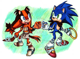 Sticks and Sonic - Two Kindred Spirits