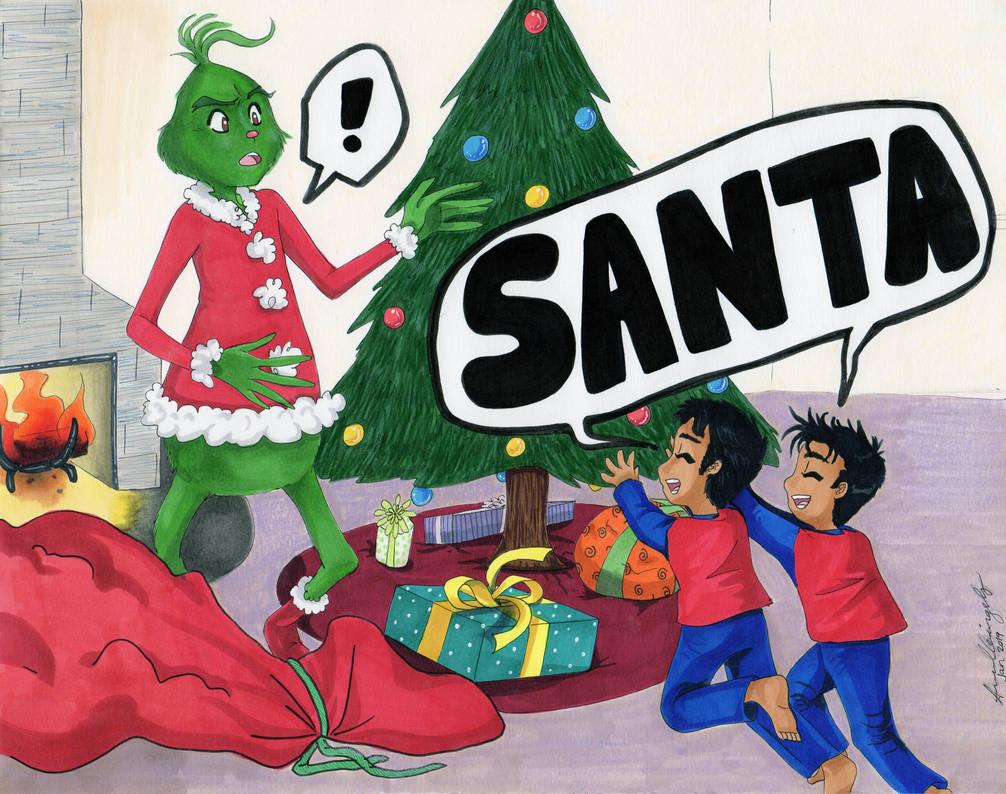 A Grinchy Christmas by JeztarzCourt