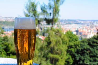 Praha + beer = inseparable