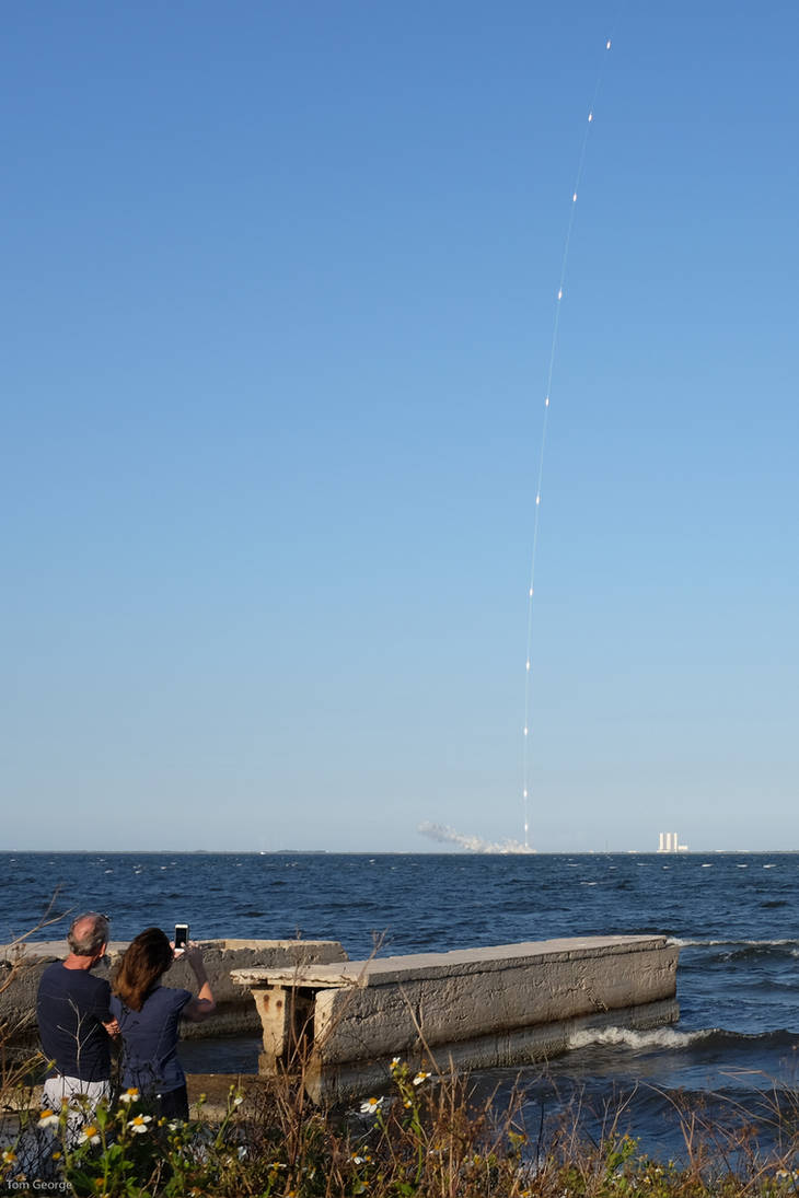 Rocket Launch by MX-3-Tom