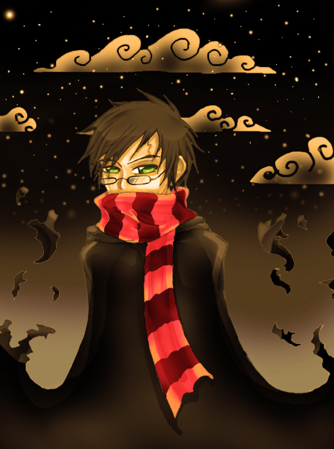 Harry Potter night by Zinfer