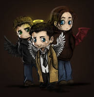 SPN: This Little Light of Mine by Zinfer
