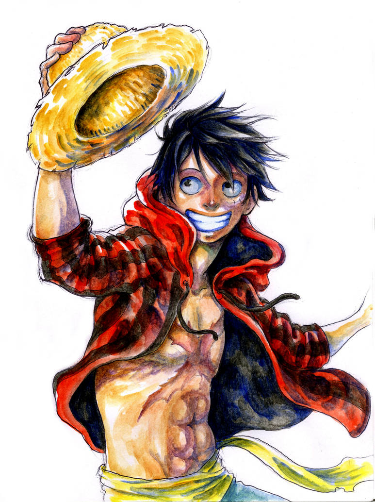 Luffy Watercolor