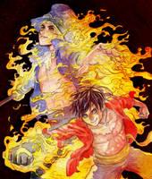 A Bond of Fire by Zinfer