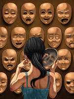 Multiple Personalities by Zinfer