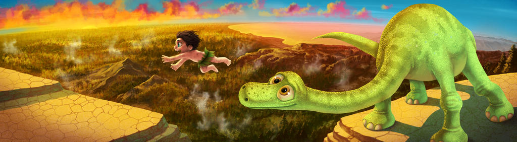 The Good Dinosaur by Zinfer