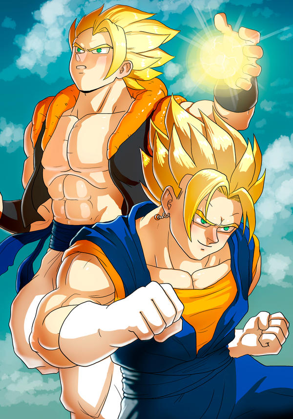 DBZ poster by Zinfer