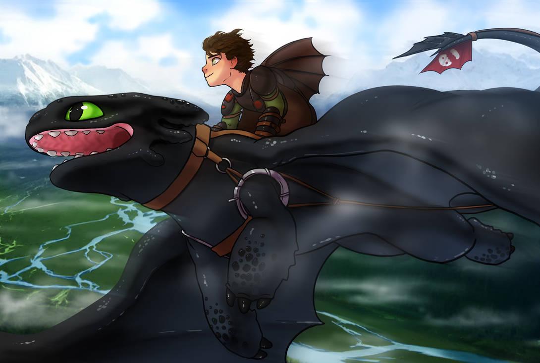 In Flight by Zinfer