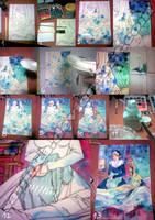 Watercolor salt tutorial by saniika