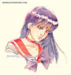 Sailor Mars Vignette