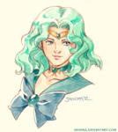 Sailor Neptune Vignette