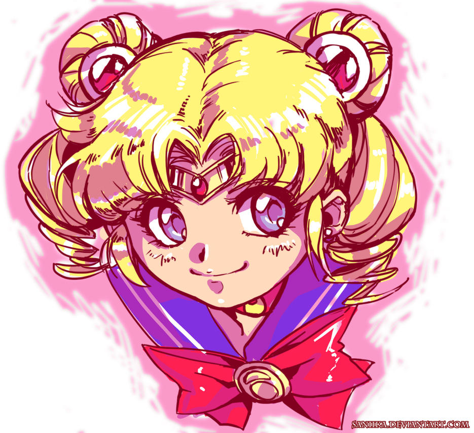 Sailor Moon by saniika
