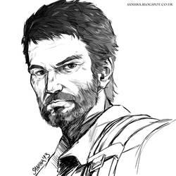 Joel - The Last of Us by saniika