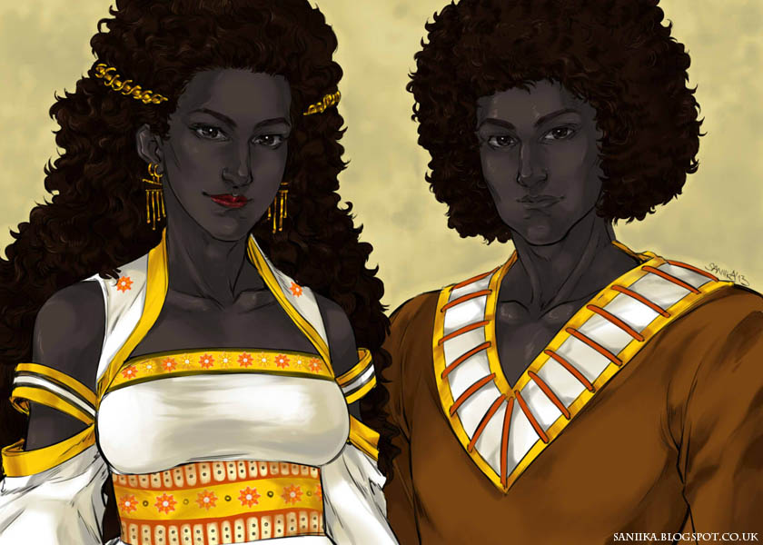 Twins of Laryon by saniika