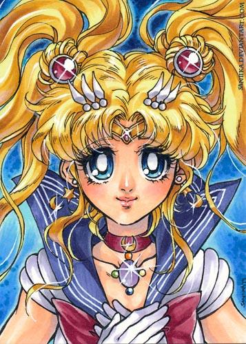 Sailor Moon Crystal by saniika