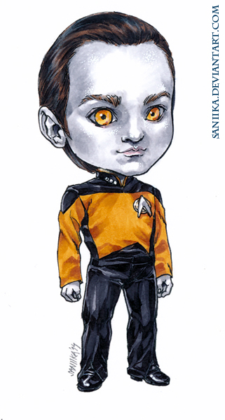 Lieutenant Commander Data by saniika