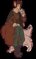 Coffee boy by saniika