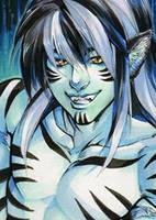 Aceo: Tiger by saniika