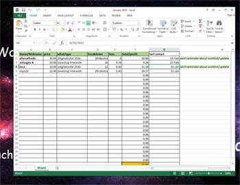 Excel by saniika
