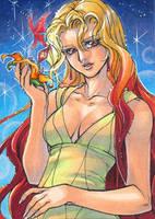 Aceo: Sailor Galaxia by saniika