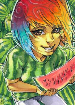 Aceo: Melon Garden