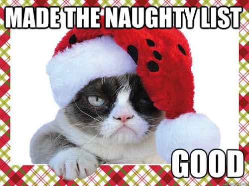 Christmas-grumpy-cat-naughty-list by saniika