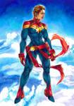 Captain Marvel -Ronda-