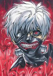 Aceo: Ken Kaneki - Tokyo Ghoul by saniika