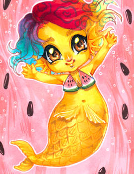 Aceo: Sanii Mermaid