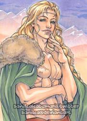Commission: ACEO Loki
