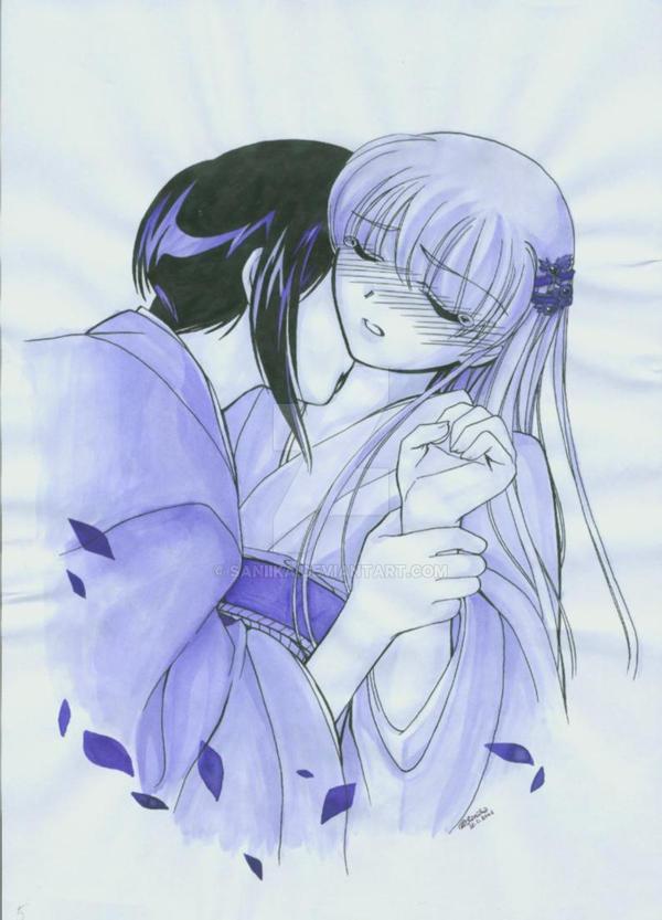 Akito and Tohru by saniika