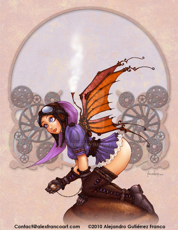 Old Style Faerie by Peyotero
