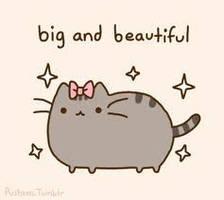 Pusheen the Cat (Big and Beautiful) by lele1237