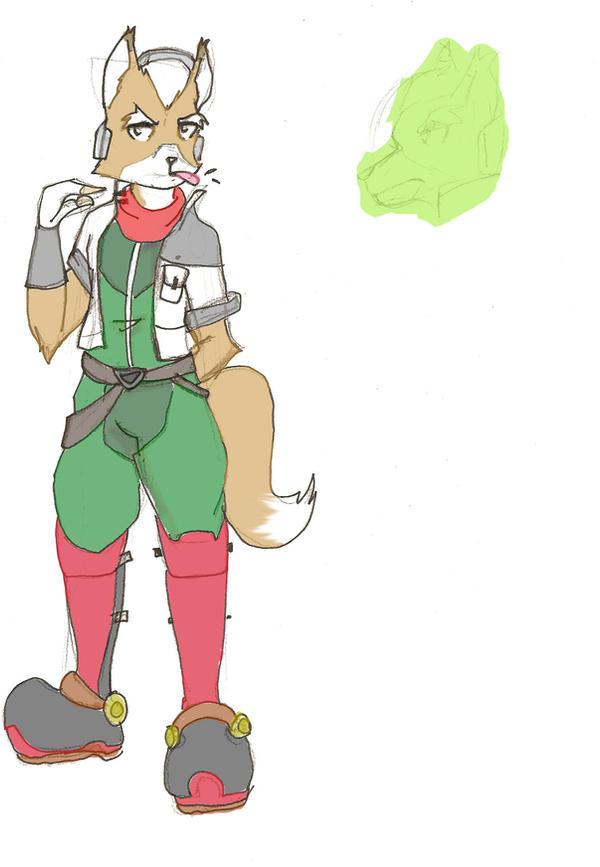 Fox Mccloud Concept By Star Fox Legacies On Deviantart