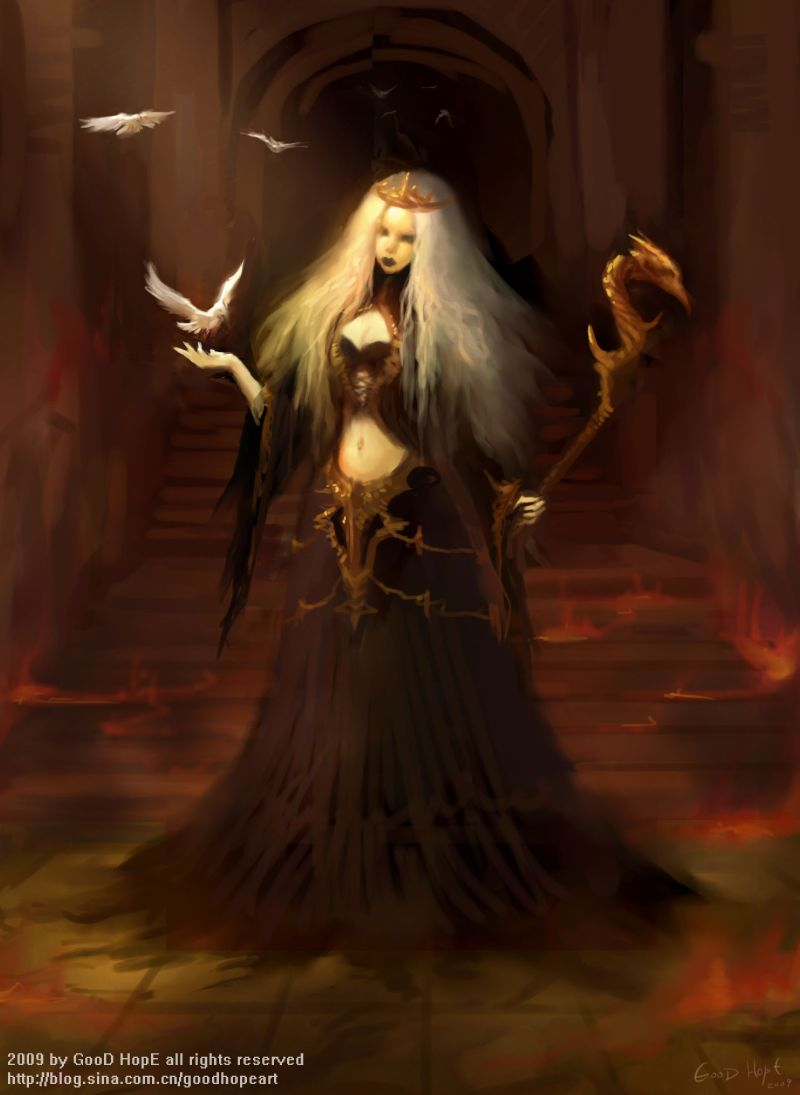 Temple Priestess By Goodhope On Deviantart