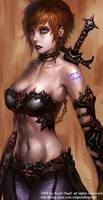 swords woman