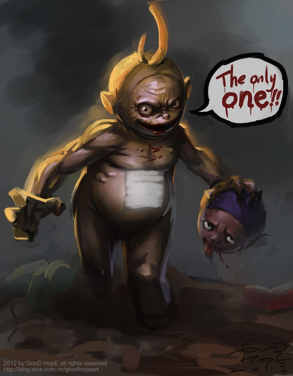 The only one Teletubbies by GooDHopE