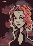 Natasha Romanoff - palette challenge