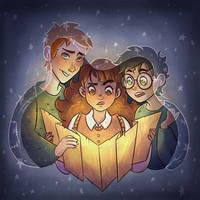 Golden Trio by MrsSandy
