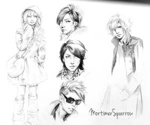 Tokyo studies #1 by mortimersparrow