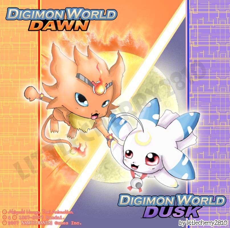 Digimon Dawn and Dusk by littlecherry2810 on DeviantArt
