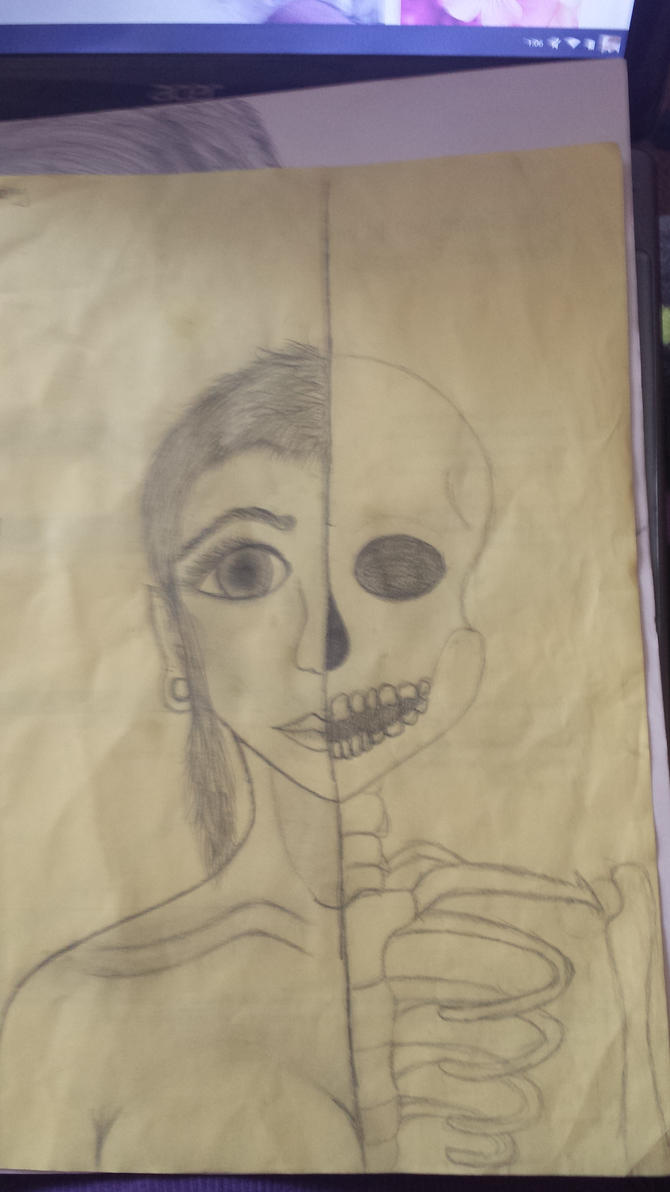 Skeletal Woman by james-lovely2322