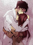 Okabe and Kurisu