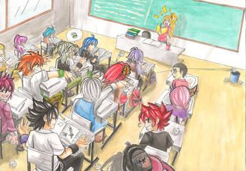 School Grand Chase by Miimiya