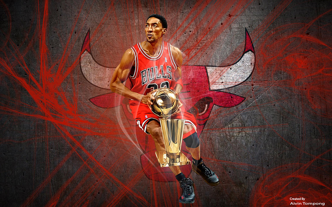 scottie pippen wallpaper by aivinkhalifa on deviantart