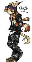 :: charles the emo lynx by yamichan